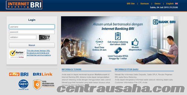 Cara daftar internet banking IB BRI dan m-banking