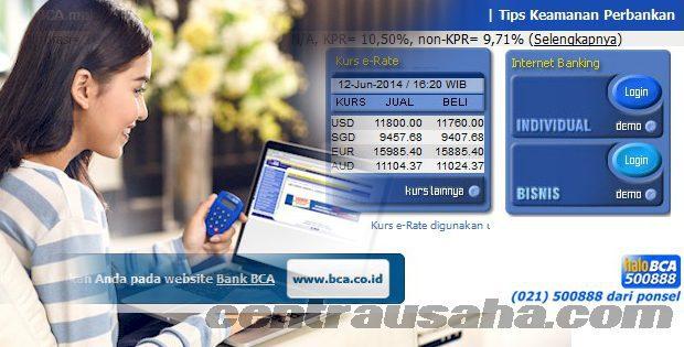 Transaksi aman internet banking klik BCA terblokir