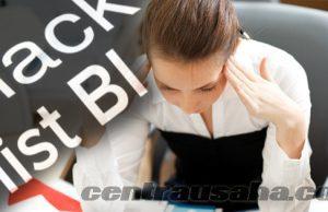 Menghapus mengurus masalah BI Checking kredit di tolak