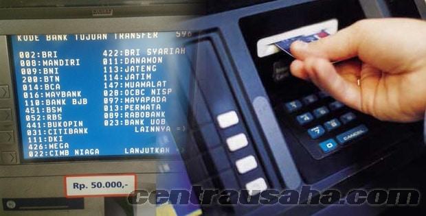 Transfer Uang Antar Bank Berbeda Kode Bca Bni Bri Madiri Lewat Mesin Atm