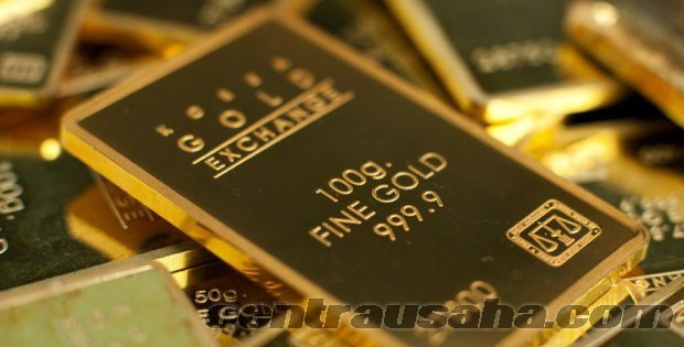 Pinjaman bank dengan jaminan emas