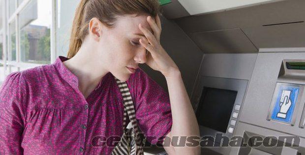 Kartu ATM gagal proses di tolak mesin