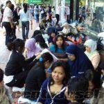 Upah minimum gaji TKW hongkong