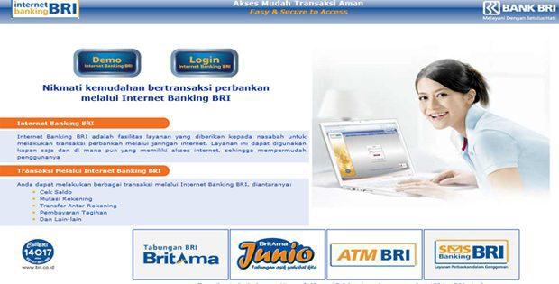 Fitur IB BRI internet banking Cek Saldo, Transfer, Mutasi