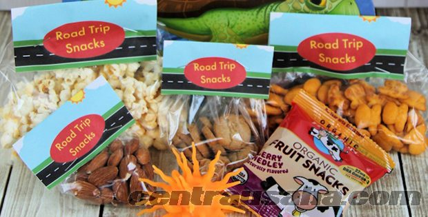 Membuat merek dan label produk makanan ringan cemilan