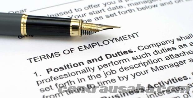 Poin penting sebelum tanda tangan kontrak kerja