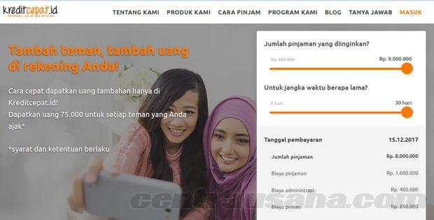 Pinjaman Online Tanpa Jaminan Mulai Rp500 Ribu Rp8 Juta Dengan