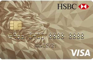 Kartu Kredit HSBC Visa Gold