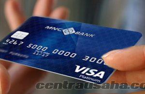 Membayar tagihan kartu kredit melalui ATM BCA