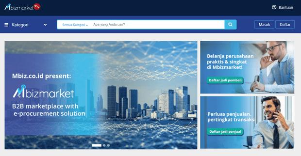 MbizMarket sebagai Solusi Terbaik B2B Digital Procurement