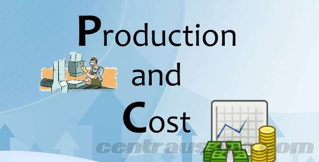 Perhitungan biaya produksi