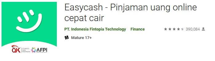 Aplikasi pinjaman online Easy Cash