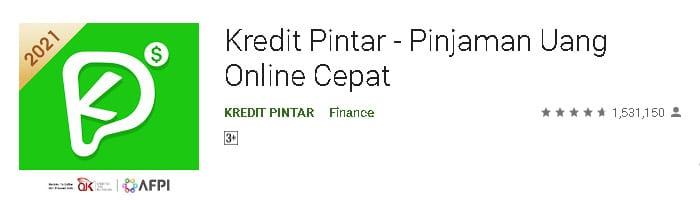 aplikasi pinjaman online terbaik 2021 kredit pintar