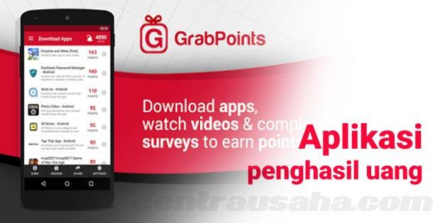 aplikasi penghasil uang grab points free gift cards