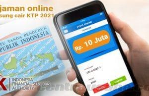 pinjaman online langsung cair ktp 2021