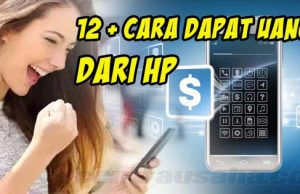 cara menghasilkan uang dari handphone HP