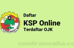 KSP Online resmi yang terdaftar di OJK
