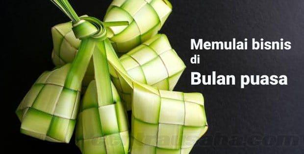 Memulai bisnis yang menjanjikan di bulan Ramadhan